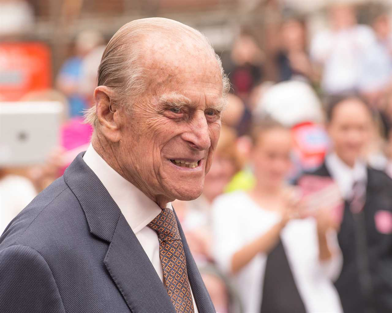 Prince Philip's funeral is taking place within the grounds of Windsor Castle