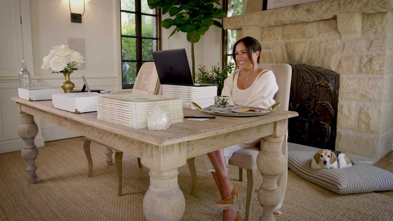 Meghan has launched a women's initiative to mark her 40th birthday and revealed the news in a video shot in her £11million Santa Barbara mansion